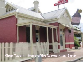 Kirup Tavern, the home of Kirup Syrup